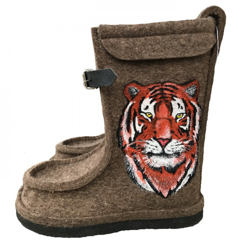 """Дизайнерские полувалеши """"Тигр"""""""